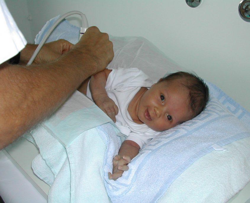 Säuglingssonographie