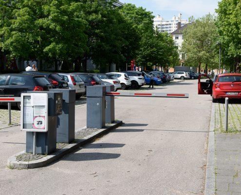 Parkplatz OZ Theresie